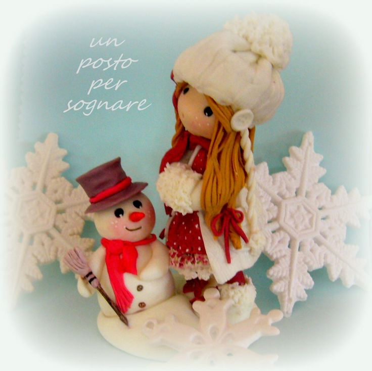 winter,dolls,bamboline,porcellana fredda,