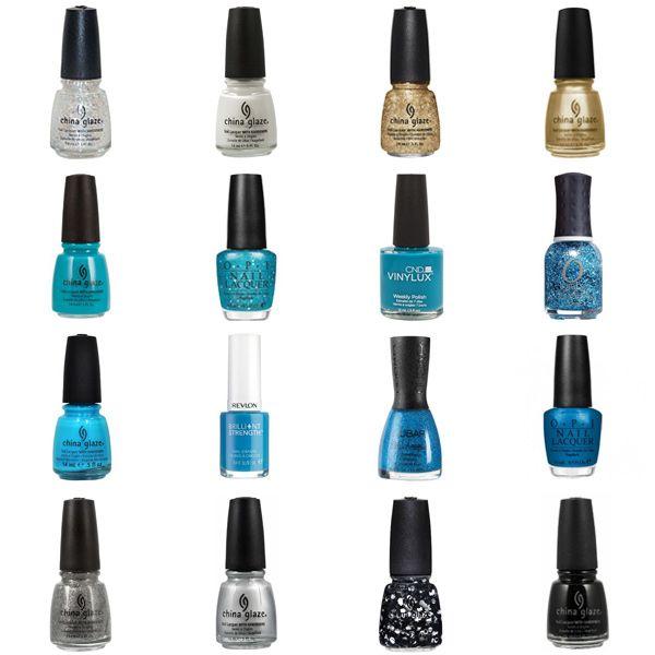Blue Nail Polish Combinations: Best 25+ Carolina Panthers Nails Ideas On Pinterest