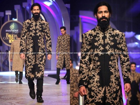 HASSAN SHEHERYAR YASIN at Pakistan Bridal Couture Week 2013
