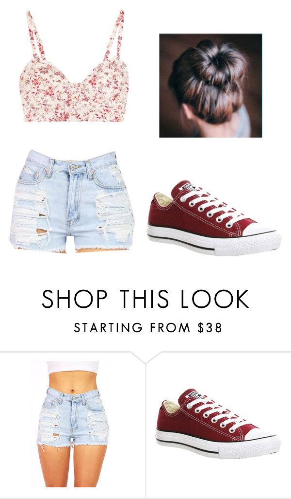 """""""Summer picnic outfit"""" by catalinaa03 ❤ liked on Polyvore featuring beauty and Converse"""