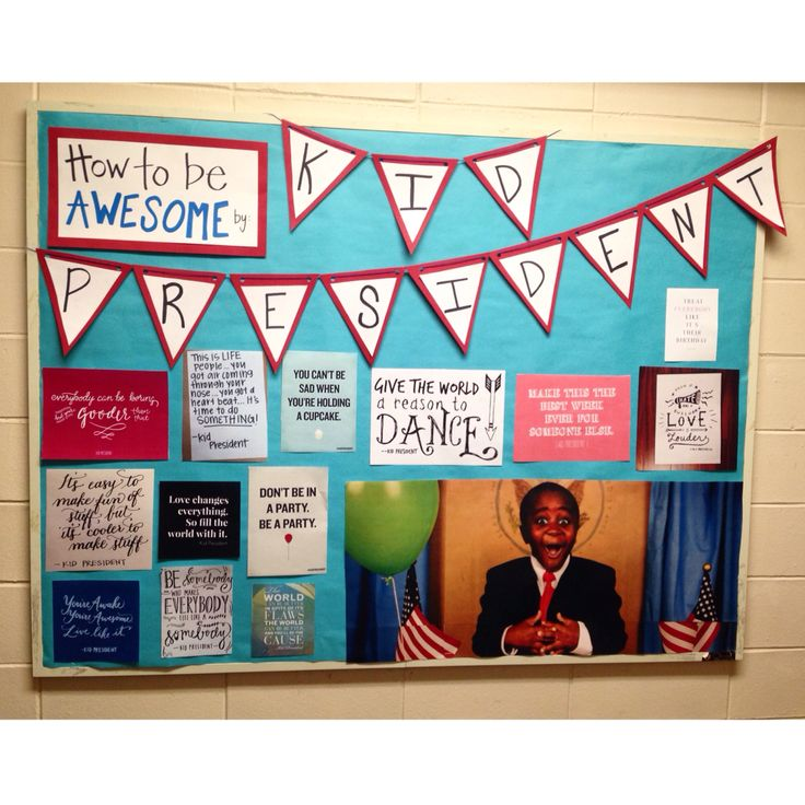 November Kid President Bulletin Board!