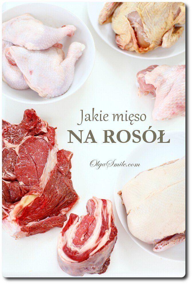 Jakie mięso na rosół Czasami pytacie mnie jakie mięso na rosół jest najlepsze? Z jakiego mięsa najlepiej ugotować rosół? W zależności od tego jakie mięso na rosół zostanie użyte oraz jakie warzywa i przyprawy, to zupa