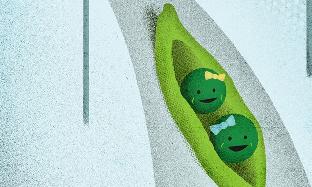 Peas by John Ashcroft