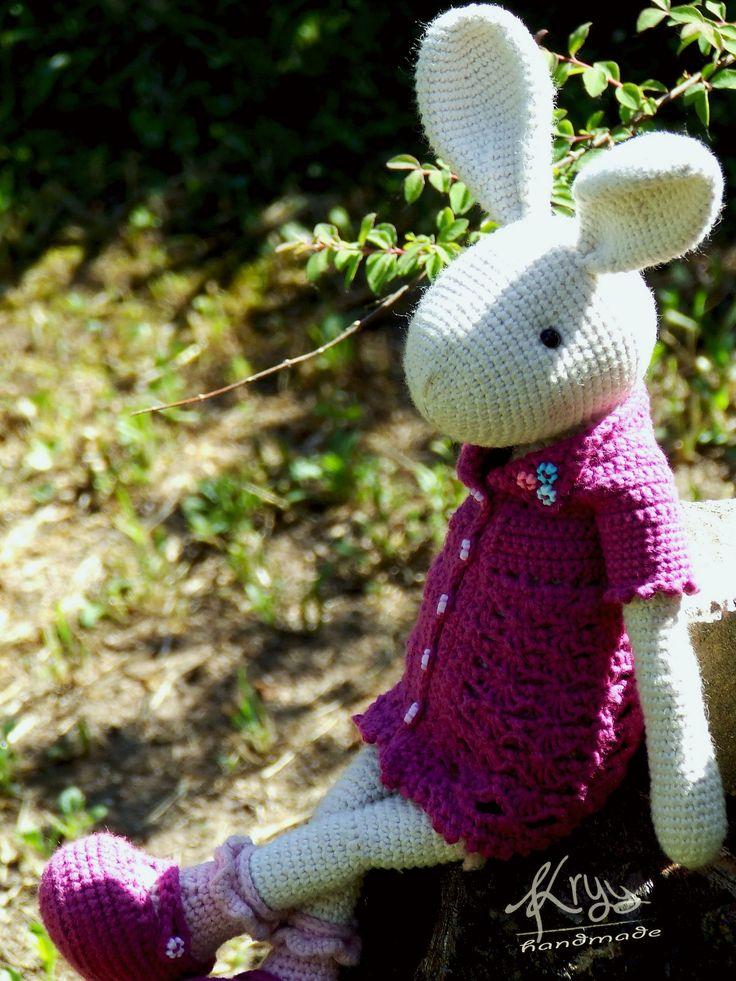 Willenein bunny's little sister #amigurumi
