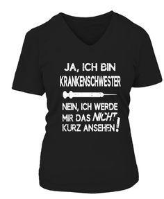 Das perfekte T-Shirt für jede Krankenschwester, die oft genervt ist. | 19 witzig-praktische Geschenke, über die sich jede Krankenschwester freut