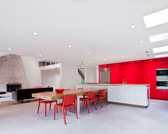 Die besten 25+ Küche rot hochglanz Ideen auf Pinterest - küche rot hochglanz
