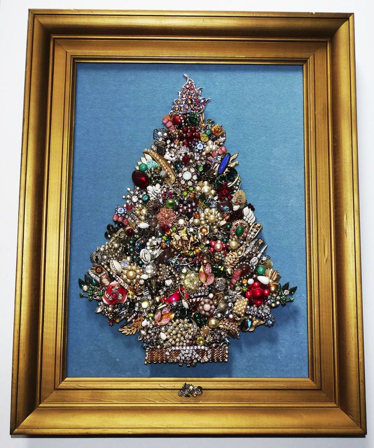 14 best images about jewlery tree on Pinterest Christmas trees