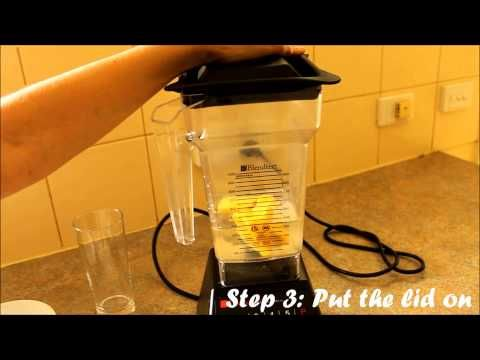 Video: How To Make Whole Fruit Juice In A Blender (No Juicer Required!): http://healthfoodlover.com/hfl/2012/01/31/recipe-tropical-whole-fruit-juice-how-to-make-juice-blender/