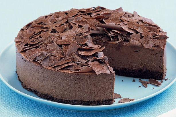 Milk Chocolate Mousse Cake - it doesn't get much better than this!