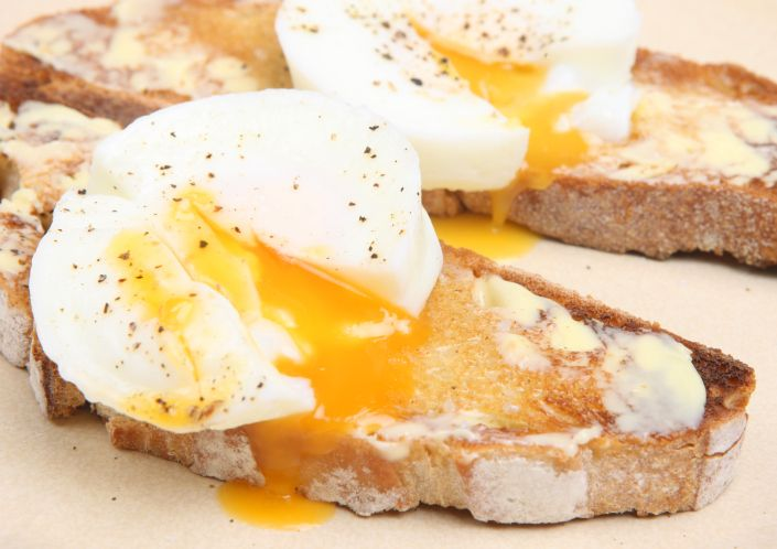 Easy Poached Eggs Recipes — Dishmaps