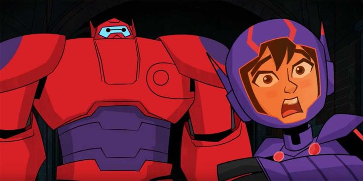 Hiro and Baymax are trapped in the lair of Baron Von Steamer in a sneak peek at Disney XD's Big Hero 6: The Series.