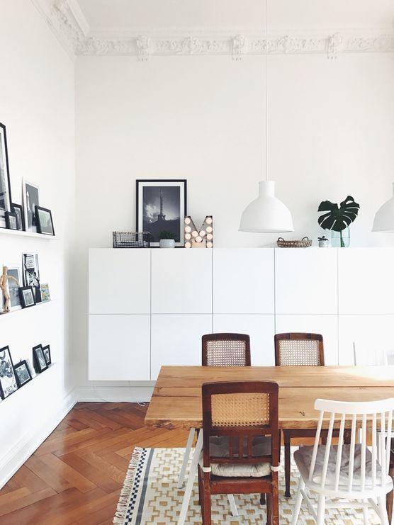 Die Schonsten Ideen Mit Dem Ikea Besta System Wohnung Esszimmer Wohnung Wohnzimmer Wohnzimmer Einrichten