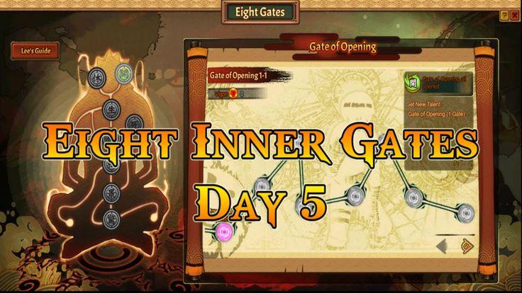 Anime Ninja   Eight Inner Gates : Day 5   Naruto Game   Browser Online Game