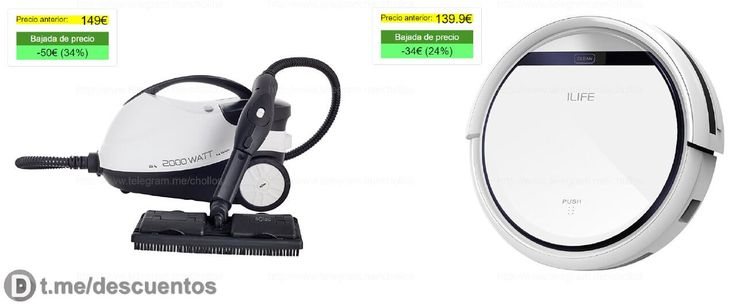 Limpiador de vapor 4 bares y aspirador Ilife V5 desde 99 - http://ift.tt/2nyVh88