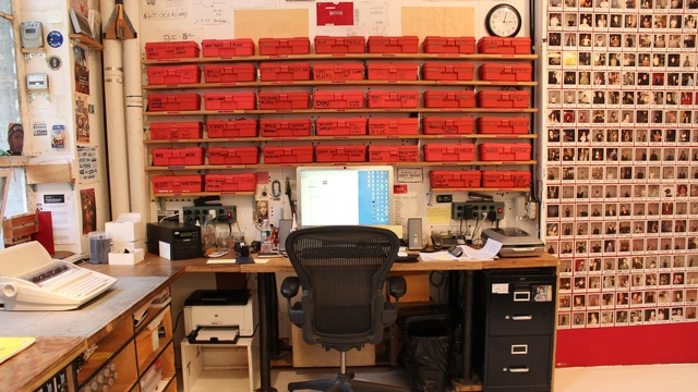 Major office storage (film editing lab)...need a smaller version of this!