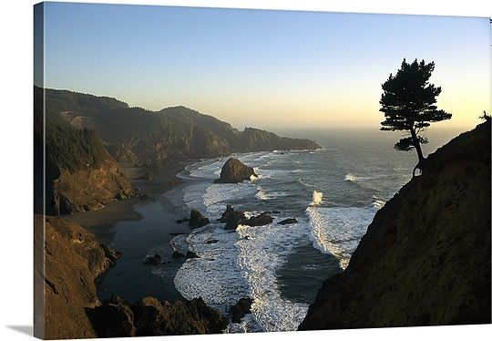 A scenic view of the Oregon coast at Samuel H. Boardman State Park
