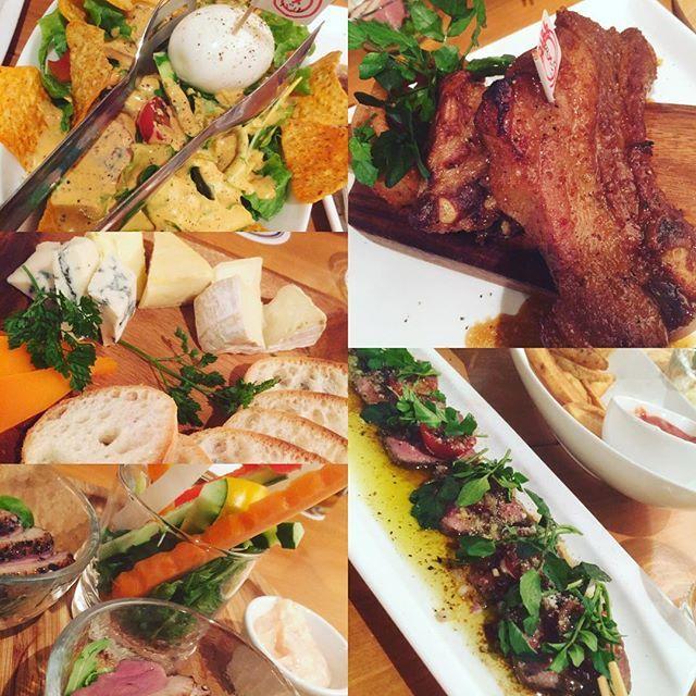 #つくば#肉バル#肉#スペアリブ #ローストビーフ#コブサラダ #つくば市 #晩ごはん  今日は #餃子パーティー #楽しみ ❤️❤️❤️