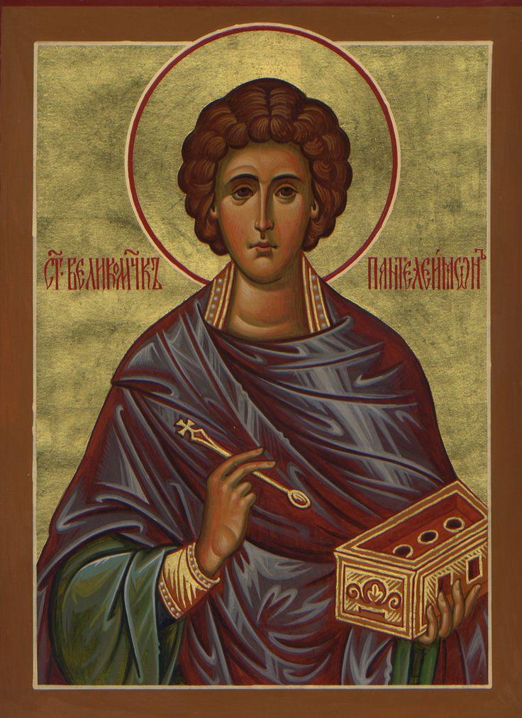 St. Panteleimon by Paul Drozdowski