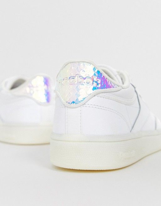 Reebok Club C 85 Trainers in White with
