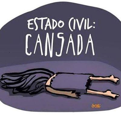 Imagem e Frases Facebook: Estado civil na segunda