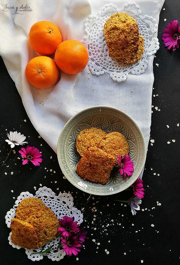 Galletas de Avena, Naranja y Miel