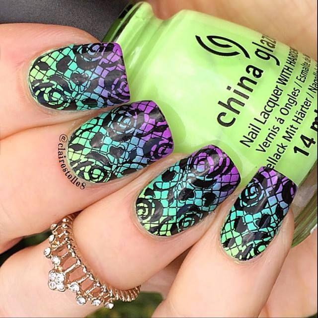 Mejores 123 imágenes de Nails Art en Pinterest | Arte de uñas ...