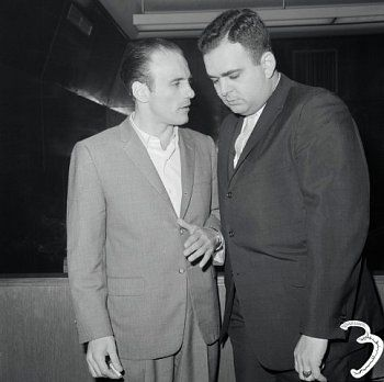 Joe Gallo with Friend Date Photographed: October 16, 1961