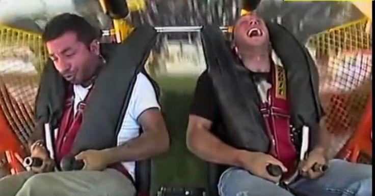 Ελληνάρας ρίχνει το βρισίδι της ζωής του επειδή φοβόταν στο τρένο του Λούνα Παρκ! Crazynews.gr