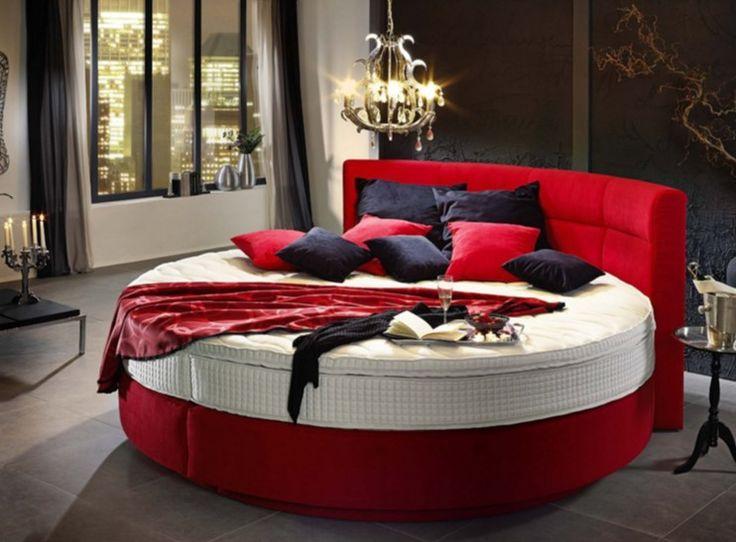 Die 25+ besten Ideen zu Rot Schlafzimmer Design auf Pinterest ...