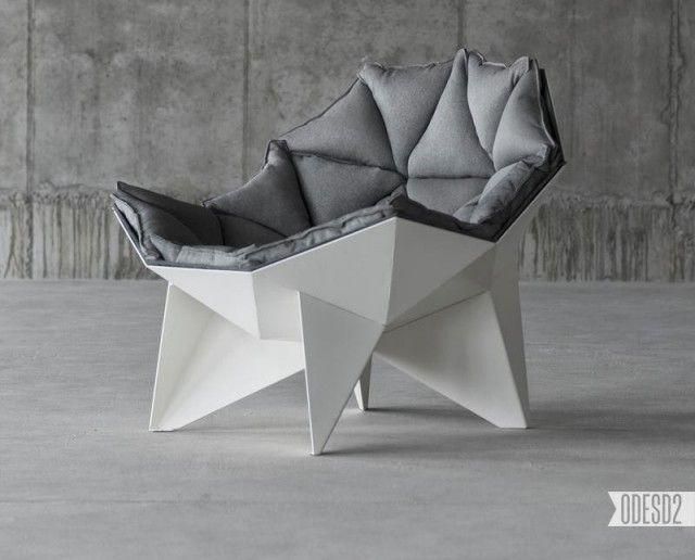Q1 Design Loungesessel Odesd2 Ukraine Gestell Weiss Graue