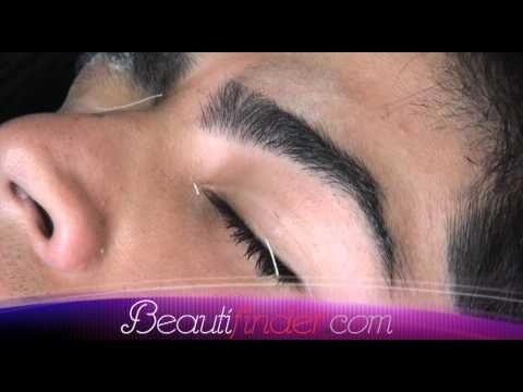 ▶ Beauty Tips By Beautifinder.com *** Waxing Men's Eyebrows *** - YouTube  Every man, young or old should take care of their eyebrows!  Learn how, with NO shaving