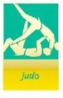 LONDON 2012 OFFICIAL PARALYMPIC PICTOGRAM JUDO PIN