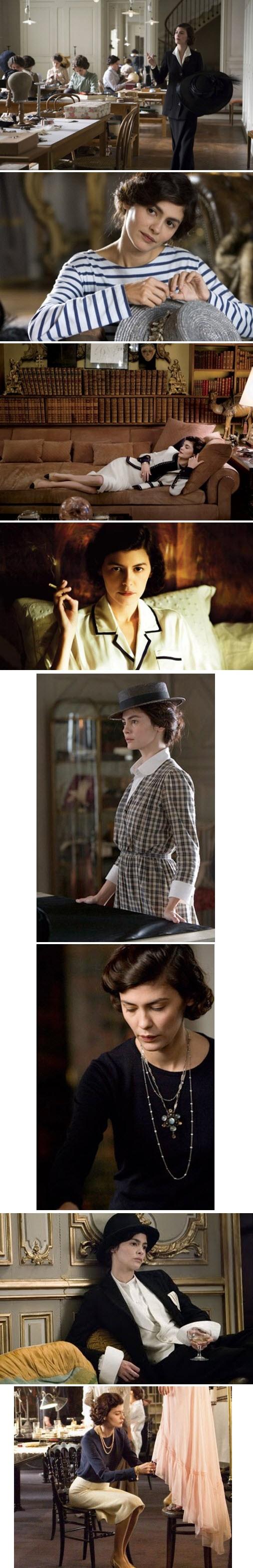 Audrey Tautou en Coco Avant Chanel--en français (watch it in French).