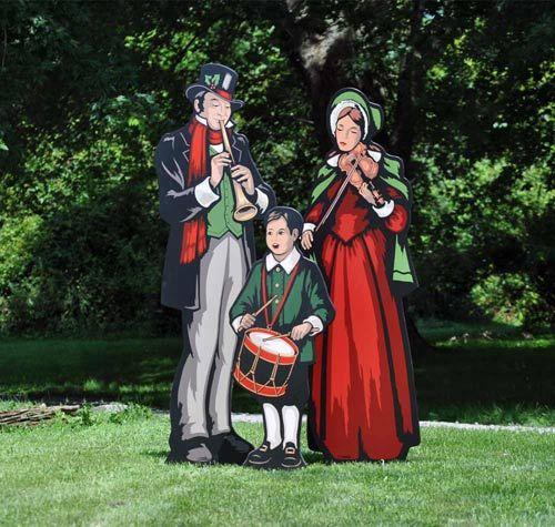 Christmas Carolers Wood Outdoor Yard Art By Chartinisyardart: Die Besten 25+ Victorian Outdoor Holiday Decorations Ideen