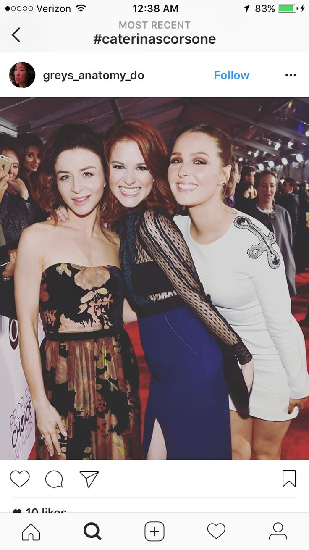 Caterina , Sarah and Camilla