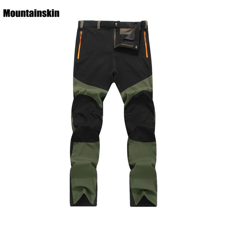 [Visit to Buy] Men Elastic Windproof Quick Drying Pants Outdoor Sports Breathable Sweat Pants 4XL Hiking Camping Trekking Thin Trousers RM125 #Advertisement
