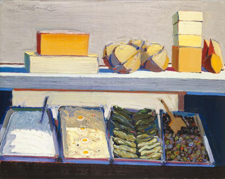 Delicatessen Counter by Wayne Thiebaud, 1961