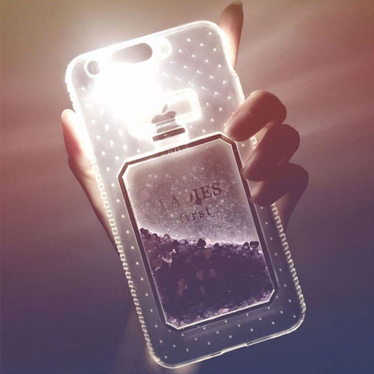 3D Perfume Bottle Quicksand Light Up Phone Case for iPhone 6s 6 7 Plus 5S //Price: $7.99 //       #7DollarStoreUsa    #cute #instagood #beautiful #dandg #picoftheday #cocochanel #girl #brandonflowers #love #tagblender #dolceandgabbana #lovely #branded #instabrands #good #photooftheday #brands #me #brandy #iphonesia #chanel #awesome #tweegram #tbt #brandname #instamood #brandon #brandymelville #louisvuitton #brand