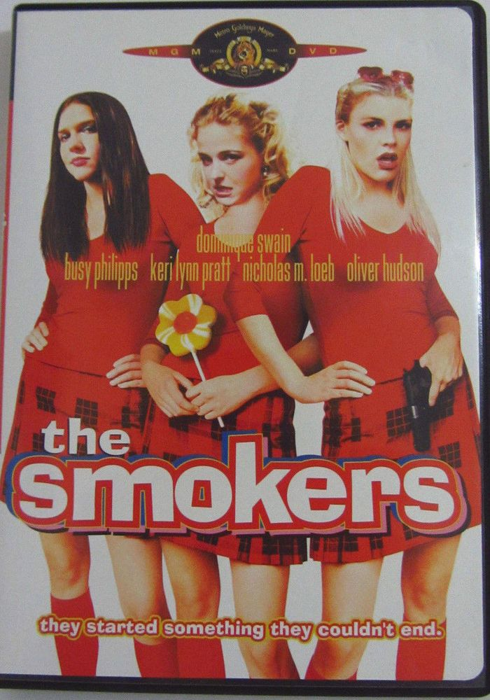 The Smokers DVD Rated R Dominique Swain Busy Philips Keri Lynn Pratt