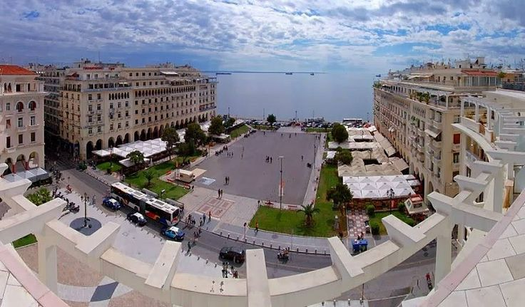TRAVEL'IN GREECE | Aristotle square, #Thessaloniki, #Central_Macedonia, #Greece, #travelingreece