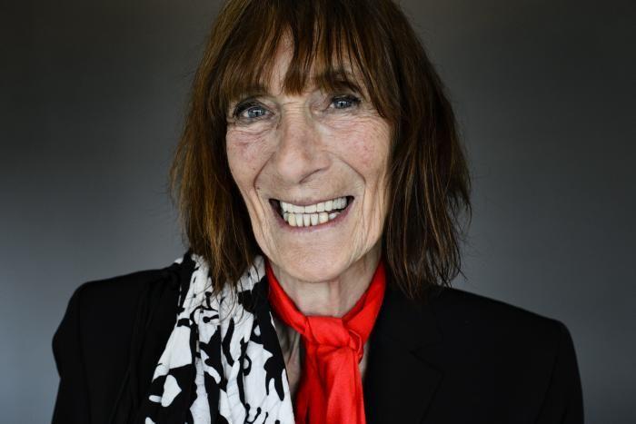 Ann Patricia 'Mopper' Christiansen i forbindelse med Interview om ny omgang 'Familien fra Bryggen'