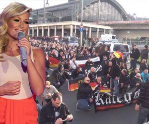 Die Polizei setzt Musik von Helene Fischer gegen demonstrierende Hooligans ein!