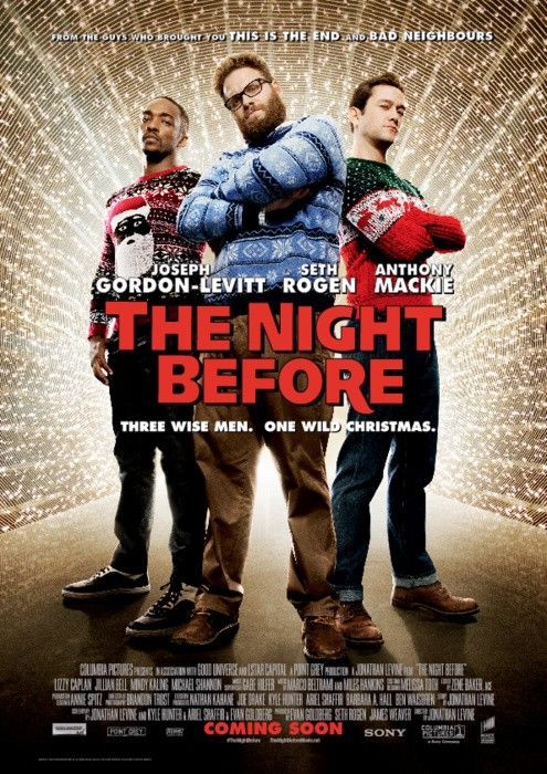 Anthony Mackie played the role of Chris Roberts in the movie The Night Before (2015)