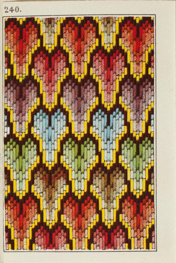 Alexandre 240 bargello needlepoint pattern