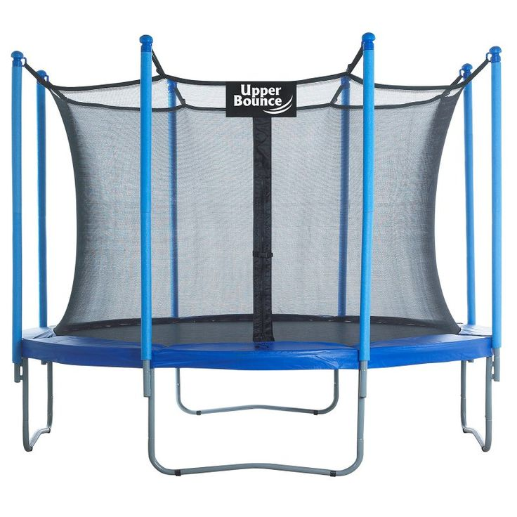 Upper Bounce 10 ft. Trampoline and Enclosure Set - UBSF01-10