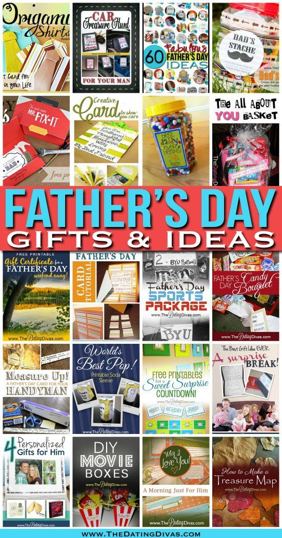 Jackpot!  A whole archive of fun Father's Day ideas- most of them with free printable downloads.    #fathersday #printables