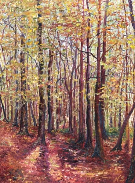 'Belleek in Autumn' www.niamhslack.com