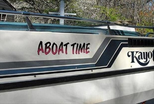 funny boat names @Nobeltec - New website: www.nobeltec.com! #unusual #funny