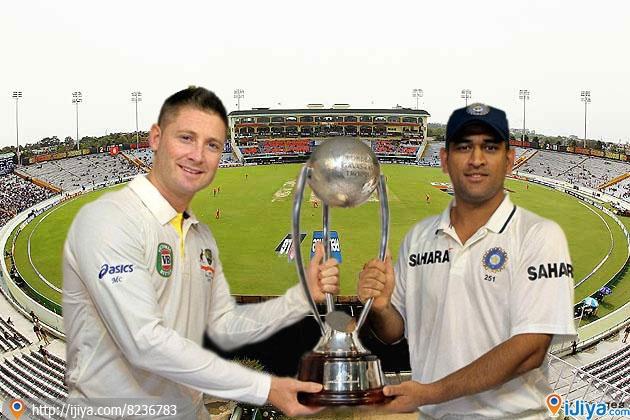 Today, India vs Australia 3rd Test Match 2013  PCA Stadium, Mohali @ http://ijiya.com/8236988