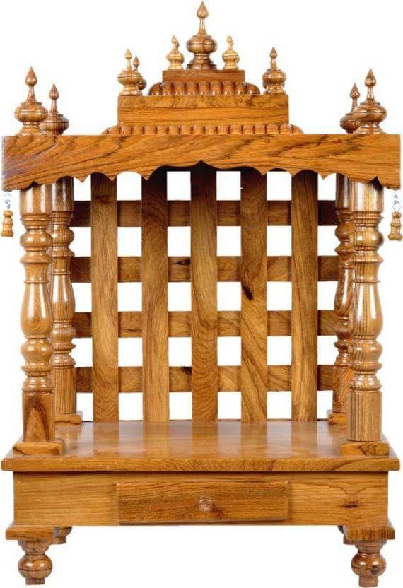 Pooja Room Mandap in Wood